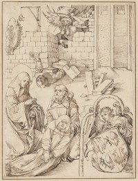 Fig. 1. Scene from the life of St Benedict designed by Dürer.