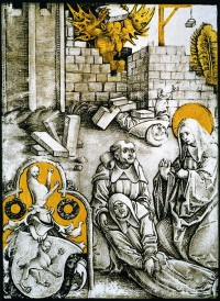 Fig. 2. Panel of the same scene made for the Benedictine monastery of St Egidien.
