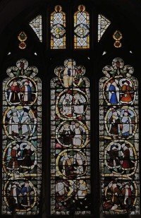Fig. 2. Tree of Jesse window from St Margaret, Margaretting, Chancel, east window.