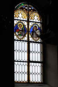 Fig. 2. One of the windows at Marly. Daniel Stettler, Berne