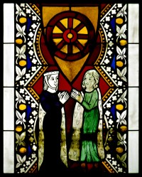 Fig 5. Scene from the Donor's window c 1276-91