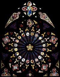 Fig. 8. The Rose window