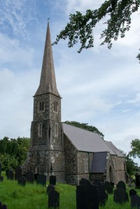 Fig. 1. Henry Kennedy, Church of St Gwenllwyfo, Llanwenllwyfo (near Dulas, Anglesey), 1856.