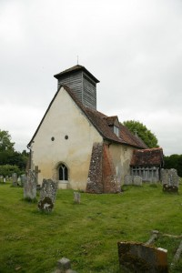 Fig. 1. Timsbury Church before the fire. © Roger Rosewell