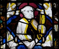 Fig. 3. Shiplake, window I, detail: St Peter.