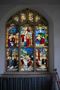 Fig. 3. Warham, St Mary Magdalene: east window.