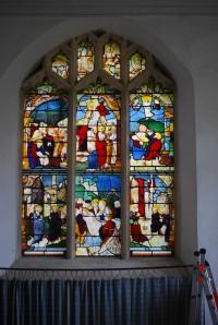 Fig. 3. Warham, St Mary Magdalene: east window.