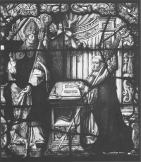 Fig. 12. Lord Mayor's Chapel, Bristol, Avon: window VI panel 1b. (Täube 2007, II, Kat.-Nr. 136-1b)