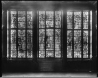 Fig. 3. The Park Abbey glass, as installed in William Clarke's home, c.1925.