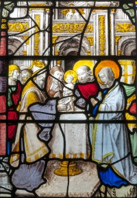 Fig. 3. Llanarth, church of St Mary and St Michael: the Circumcision of Christ, 1522–26.