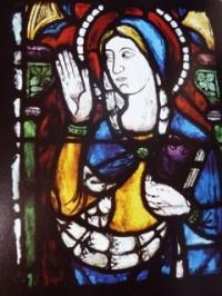 Fig. 6b. Image of Virgin in window