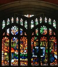 Fig. 1. East Window, Wesley Methodist Church, Cambridge