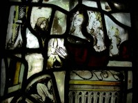 Fig. 11. Mobberley, St Wilfrid: donors, c.1500