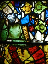 Fig. 5. Detail from window (c) Holy Well Glass.