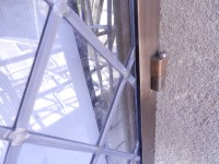 Fig. 12. Detail of the external glazing fixing system (c) Holy Well Glass.