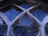 Fig. 13. View of protective glazing (c) Holy Well Glass.