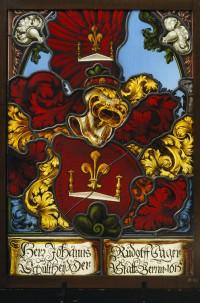 Fig. 1. Heraldic panel of Hans Rudolf Sager, 1615. Bern, Bernisches Historisches Museum, inv. no. BHM8857.