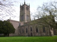 Fig. 1. Ludlow, St Laurence: north façade. © Author