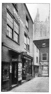 Fig. 3. The Pitcher shop in College Court, Gloucester.