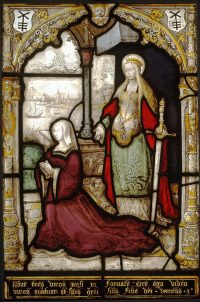 Fig. 13. Catherine Boelen with St Catherine, probably 1520s, Victoria & Albert Museum, London. © Victoria and Albert Museum