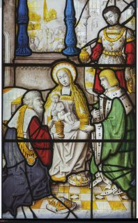 Fig. 5. The Adoration of the Magi, Church of St Gwenllwyfo.