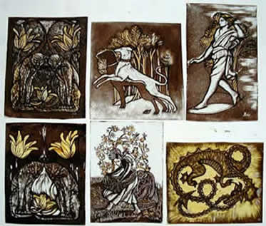 Image result for glass painting stained glass
