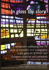 Fig. 1. 'In glass thy story.'