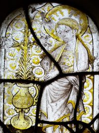Fig.2. The Annunciate Virgin Mary, Poynings, Sussex.