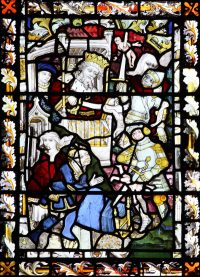 Fig. 2: The Massacre of the Innocents, 15th-century, parish church of St Peter Mancroft, Norwich.