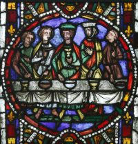 Fig. 3. The Marriage at Cana from Clermont-Ferrand, 1275-85.