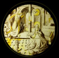 Fig. 4. The Annunciation, Flemish, early 16th century.