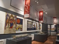 Fig. 2. Interior of the new museum at Hailes