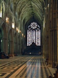 Fig. 1. Worcester Cathedral.