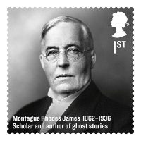 Fig. 1. Montague Rhodes James as depicted in 'The Britons of Distinction' set of stamps issued in 2012.