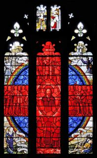Fig. 3. Detail from Eton College war memorial window designed by M. R. James.