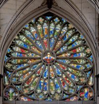 Fig. 11. Westminster Abbey, south rose window.