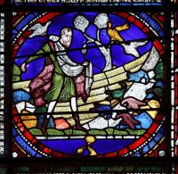 Fig. 12. The Sower, c.1180, Canterbury Cathedral.