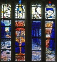 Fig. 1. Detail of Tom Denny's commission at Gloucester Cathedral.