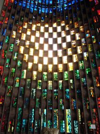 Fig. 1. The Baptistry Window at Coventry Cathedral, John Piper and Patrick Reyntiens.