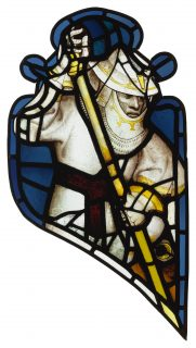 Fig.2. St George, tracery panel A2. Photo: The York Glaziers Trust, reproduced courtesy of the Chapter of York.