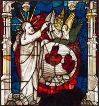 Fig.3. The first Day of Creation, panel 15a. Photo: The York Glaziers Trust, reproduced courtesy of the Chapter of York.