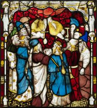 Fig.4. The sealing of the 12 tribes (Revelation 7: 4-18), panel 9c. Photo: The York Glaziers Trust, reproduced courtesy of the Chapter of York.