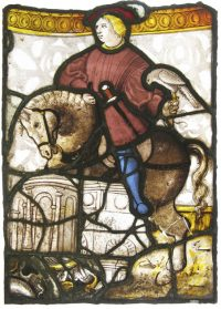Fig. 1. Hawker on Horseback, early 16th century, Gifted by Sir William and Lady Burrell to the City of Glasgow, 1944, now in the Burrell Collection.