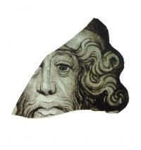 Fig. 6. Partial bearded head, probably of a prophet, datable to c.1400, found at Westminster © Dean and Chapter of Westminster.