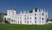 Fig. 2. Strawberry Hill House, Horace Walpole's 'little gothic castle', following recent restoration.