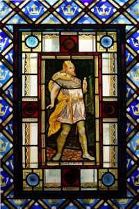 Fig. 2. Macbeth, from the private chamber of Isabel Güell at the Güell Palace (Jordi Bonet).