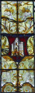 Fig.1. Melton Constable: Arms of the City of Norwich. Mike Dixon.