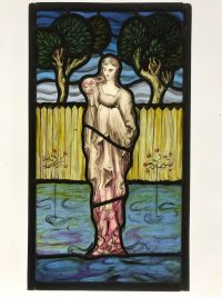 Fig. 1. Panel by Jonathan Cooke, Inspired by Burne-Jones.