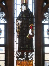 Fig. 1. Geoffrey Chaucer, Northgate Room, Ipswich Library.
