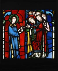 Fig. 10. Scenes from the Life of St Stephen, c. 1220 © Victoria & Albert Museum London.